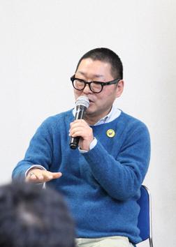 ランドスケーププロダクツの岡本仁氏
