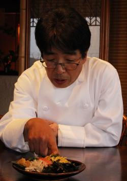 奄美の里 レストラン「花ん華」 料理長 松尾勝也