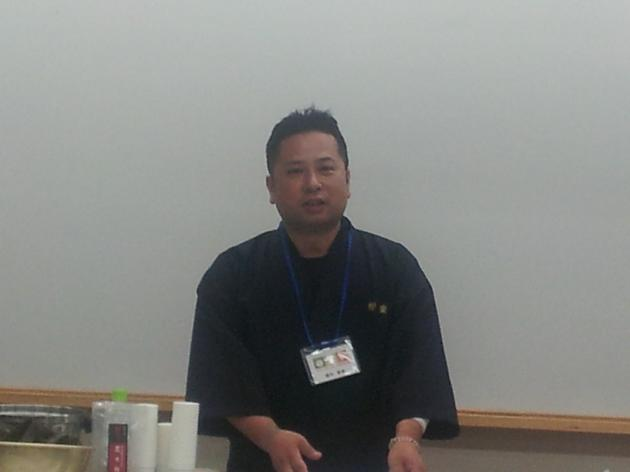第二部も出汁プロ実行委員梛木 春幸先生が講師