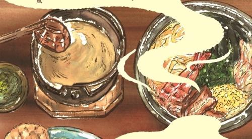 国民文化祭でお披露目する女子大生がレシピ開発した出汁茶漬け。