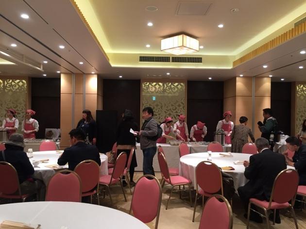 城山観光ホテルで開催された国民文化祭イベント。