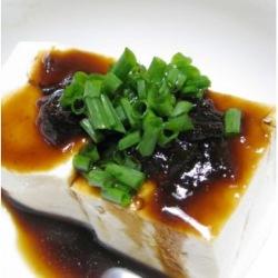 湯豆腐 鰹せんじたれ2